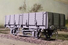 """""""O"""" Gauge Etched Brass BR 12T Pipe( 4 shoe ) Wagon Kit"""