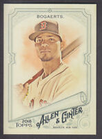 Topps - Allen & Ginter 2018 - Base # 295 Xander Bogaerts - Boston Red Sox