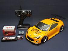 TOYOTA GT86 1:10 DRIFT RTR RC-CAR KOMPLETTPAKET TAMIYA TT-01E XB  - FAHRFERTIG !