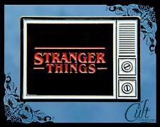 Stranger Things metal and enamel Pin Badge.TV  Eleven, Steve, Mike, Dustin Pins