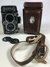 Rolleiflex 3.5E 75mm f3.5 Zeiss Planar lens clean optic good user