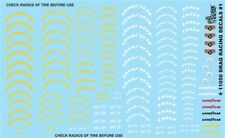 Gofer 11050 Drag Racing Tire Graphics Decal Sheet 1/24 and 1/25