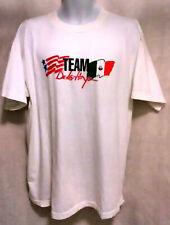 RARE Vintage 1998 tEAMOscar De La Hoya Boxing Shirt XL White NEW F138