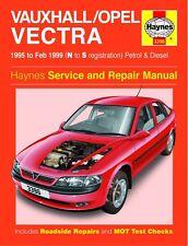 Haynes Owners Workshop Manual Holden Vectra Petrol Diesel (95-99) SERVICE REPAIR