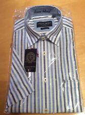 Casa Moda Men's Shirt Size S 37/38 Blue White Stripe RRP £59.95 Now £29