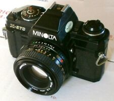 Minolta X-570 With 45mm 50mm f/2.0 Lens Good Conditions - Preferred by Pro