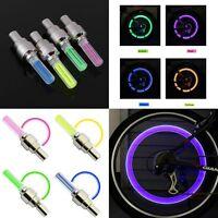 1 INDIVIDUAL LED CAP bike valve stem flashing Light Bicycle Wheel Tire Tyre Car