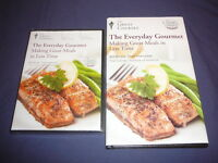 Teaching Co Great Courses DVD  :      MAKING GREAT MEALS IN LESS TIME  + bonus