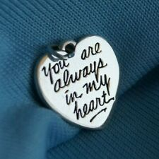 """James Avery """"You Are Always in My Heart"""" Charm Sterling Silver"""
