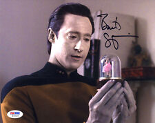 "(SSG) BRENT SPINER Signed 10X8 Color ""Star Trek"" Photo with a PSA/DNA COA"