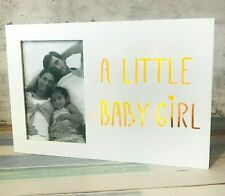 Girl LED Light Box Photo Frame White Photo 4x6 inches Box 27cm x 18cm x 2.8cm