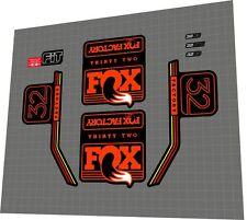 FOX Factory 32 Fork Sticker / Decal Set