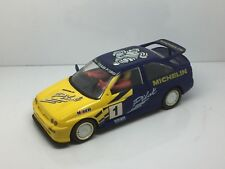 HORNBY SCALEXTRIC MICHELIN Pilot FORD ESCORT COSWORTH RALLYE VOITURE, slot cars.