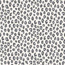 Rasch Leopard Print Animal Skin Spots Dots Glitter wallpaper motivo Gris Negro