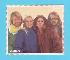 ABBA Swedish Pop Music Group Vintage Joepie Sticker A