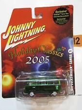 JOHNNY LIGHTNING HOLIDAY CLASSICS 2005 1965 VOLKSWAGEN SAMBA #1 W+