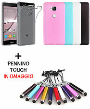 CUSTODIA COVER GEL MORBIDA COLORATA PER WIKO U FEEL PRIME + PENNINO IN OMAGGIO