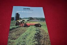 New Holland 472 474 488 489 495 Haybine Dealers Brochure 31047260 5-82 LCOH