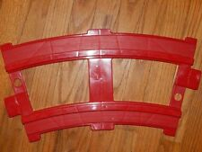 National Products Great West Express Thomas Red Curved  Ride On Train Tracks x12