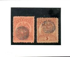 Colombia Valores del año 1895 (BO-239)