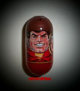 DC Universe Mighty Beanz 3 SHAZAM! Bean Comics Superman Batman 2011 NEW MINT
