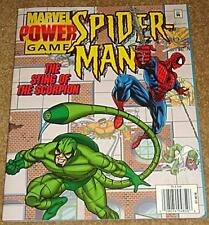 AMAZING SPIDERMAN GIVEAWAY PROMO POWER GAME SCORPION VARIANT NM 1996