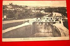 BEZIERS LE CANAL ET LES 9 ECLUSES LANGUEDOC ROUSSILLON HERAULT EDITION LL N°2