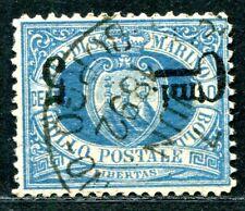 SAN MARINO 1892 8K gestempelt KOPFSTEHER (S1566
