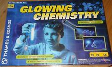 Glowing Chemistry Thames & Kosmos Science Experiment Kit Luminon UV Light