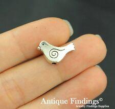 16pcs Birds Metal Charm Antique Tibetan Silver Charm Pendant SC448