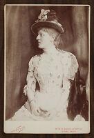 Suzanne Reichenberg, Actrice Théâtre Comédie-Française, Photo Cabinet Card