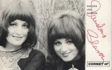 Autogramm - Sandra und Sharon