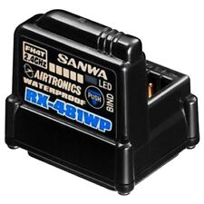 Sanwa 107A41314A 4-Channel Rx-481 Waterproof Receiver W/ Built-in Antenna