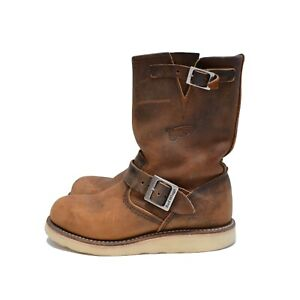 Red Wing 2971 100% Leather Engineer Boots Shoes Size EUR 37,5 US 5,5 UK 4,5
