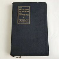 Vintage Book Bible Readers Encyclopedia And Concordance Religion Study Maps