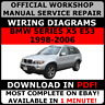 # OFFICIAL WORKSHOP Repair MANUAL for BMW SERIES X5 E53 1998-2006 WIRING #
