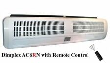 Fan heater air curtain electric DIMPLEX AC6RN 6kW over door wall heating cooler