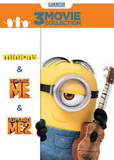 DESPICABLE ME 3-MOVIE COLLECTION New 3 DVD Set Despicable Me 1 + 2 + Minions
