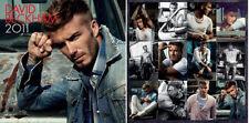 David Beckham 2011 Wall Calendar - Soccer Footballer LA Galaxy Manchester United