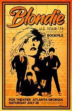 Blondie 1979 Tour Poster