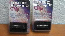 Paralllax Inc Basic Stamp 2 Interpreter Chip (Lot of 2)
