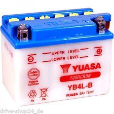 YUASA Batterie YB4LB 12V 4 AH Rollerbatterie YB4L-B 4Ah
