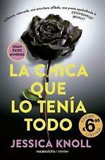 LA CHICA QUE LO TENIA TODO/ LUCKIEST GIRL ALIVE - KNOLL, JESSICA - NEW BOOK