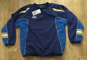 ISC Rugby League Generic Pullover Top Training Pitch Side Royal Navy Yes, SMALL