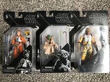 Star Wars Black Series Archive Lot Bossk, Yoda, Luke Skywalker x-wing, see pics