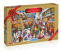 GIBSONS WRAPPED UP FOR CHRISTMAS LIMITED EDITION 1000 PIECE JIGSAW PUZZLE 2017