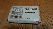 Nintendo Game & Watch Oil Panic TESTED LOW SERIAL ORIGINAL RARE CIB