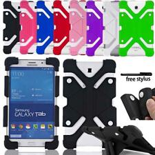 Shockproof Silicone Stand Cover Case For Samsung Galaxy Tab 2/3/4 / Tab A / TabS