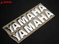 18cm Petrol Tank Fairing 3D Silver Emblem Badge Decal New for Yamaha Motorcycles