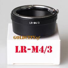 Leica R LR Lens To Olympus Micro 4/3 Adapter GF3 GH3 EPL3 EPL1 G3 E-PM2 LR-M4/3